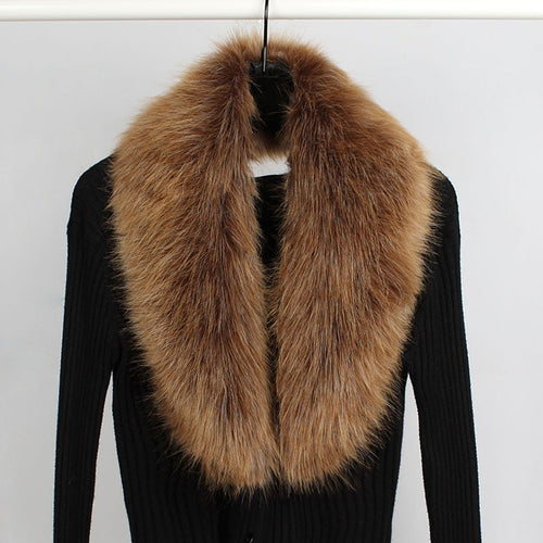 Faux Fox Fur Collar Scarve - Nova Dream Shop