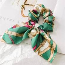 Load image into Gallery viewer, Chiffon Bowknot Silk Hair Scrunchies Bands Hair Accessories - Nova Dream Shop