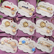 Load image into Gallery viewer, Trendy Sea Shell Hair Clips Hair Accessories Summer Korea - Nova Dream Shop