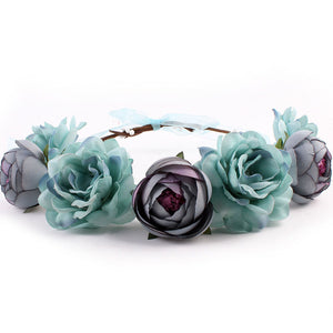 Bohemia Flower Floral Hairband Hair Accessories - Nova Dream Shop