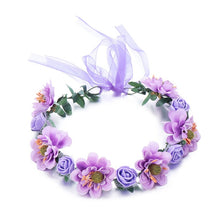 Load image into Gallery viewer, Bohemia Flower Floral Hairband Hair Accessories - Nova Dream Shop