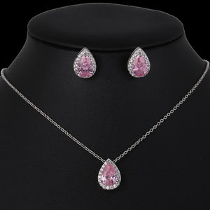 Water Drop Wedding Jewelry Sets - Nova Dream Shop