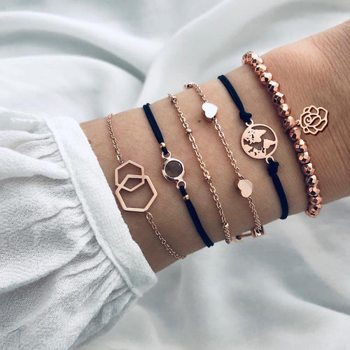 Boho Charm Bracelets & Bangles Sets - Nova Dream Shop