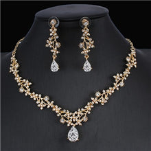 Load image into Gallery viewer, Wedding jewelry set necklace earrings accessory gift - Irene Cheung