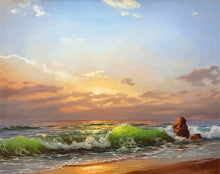 Load image into Gallery viewer, DIY Painting by Numbers Sea Scenery On Canvas - Nova Dream Shop