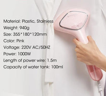 Load image into Gallery viewer, Sanitise Portable handy Garment Steam Iron handheld With Brush - Irene Cheung