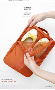 Portable Foldable Waterproof Storage Shoe Bags - Irene Cheung
