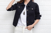 Load image into Gallery viewer, Jeans Jacket and Coats Short Denim Jacket - Nova Dream Shop