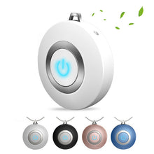 Load image into Gallery viewer, Wearable Air Purifier Necklace Mini Portable USB Air Cleaner Negative Ion Generator - Nova Dream Shop