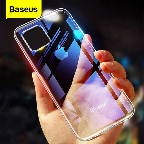 Clear Case For iPhone 11 Pro Max XS Max Xr 11Pro Case Coque Ultra Thin Soft TPU Silicone Back Cover For iPhone11 Fundas - Nova Dream Shop
