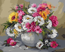 Load image into Gallery viewer, DIY Oil Painting by numbers Flowers Nature Frameless - Nova Dream Shop