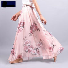 Load image into Gallery viewer, Summer Bohemia women's Chiffon lady's half long Floral Skirt Dress - Nova Dream Shop
