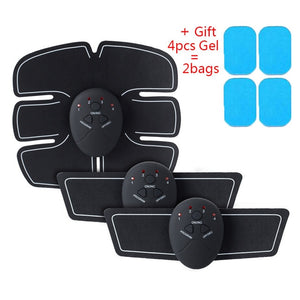 Electric Muscle Stimulator / Wireless Buttocks Hip Trainer / Abdominal ABS Stimulator / Fitness Body Slimming Massager - Irene Cheung