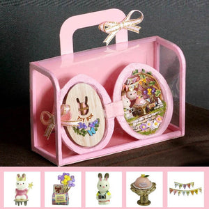 DIY Doll House Miniatures Furniture Box Theatre Toys gift box - Nova Dream Shop
