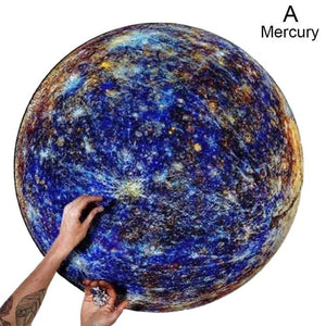 The Moon And Earth Puzzle 1000 Pieces - Nova Dream Shop