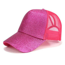 Load image into Gallery viewer, Glitter Ponytail Baseball Cap - Nova Dream Shop