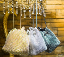 Load image into Gallery viewer, Diamonds Bag Rhinestone Shoulder Bags Ladies Purse Handbags Clutch Evening/Party/Wedding Bags - Irene Cheung