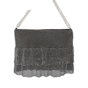 Diamonds Bag Rhinestone Shoulder Bags Ladies Purse Handbags Clutch Evening/Party/Wedding Bags - Irene Cheung