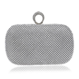 Evening Clutch Bags Diamond-Studded Evening Bag With Chain Shoulder Bag Handbags Wallets - Nova Dream Shop