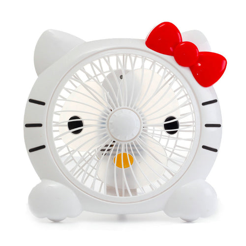 220V 20-25w Mute Table Hello Kitty Electric fan - Irene Cheung