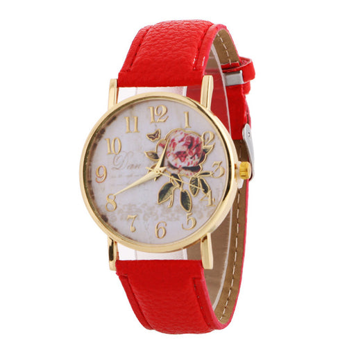 Rose Pattern Watches - Irene Cheung