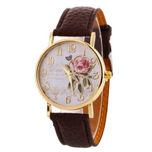 Load image into Gallery viewer, Rose Pattern Watches - Nova Dream Shop