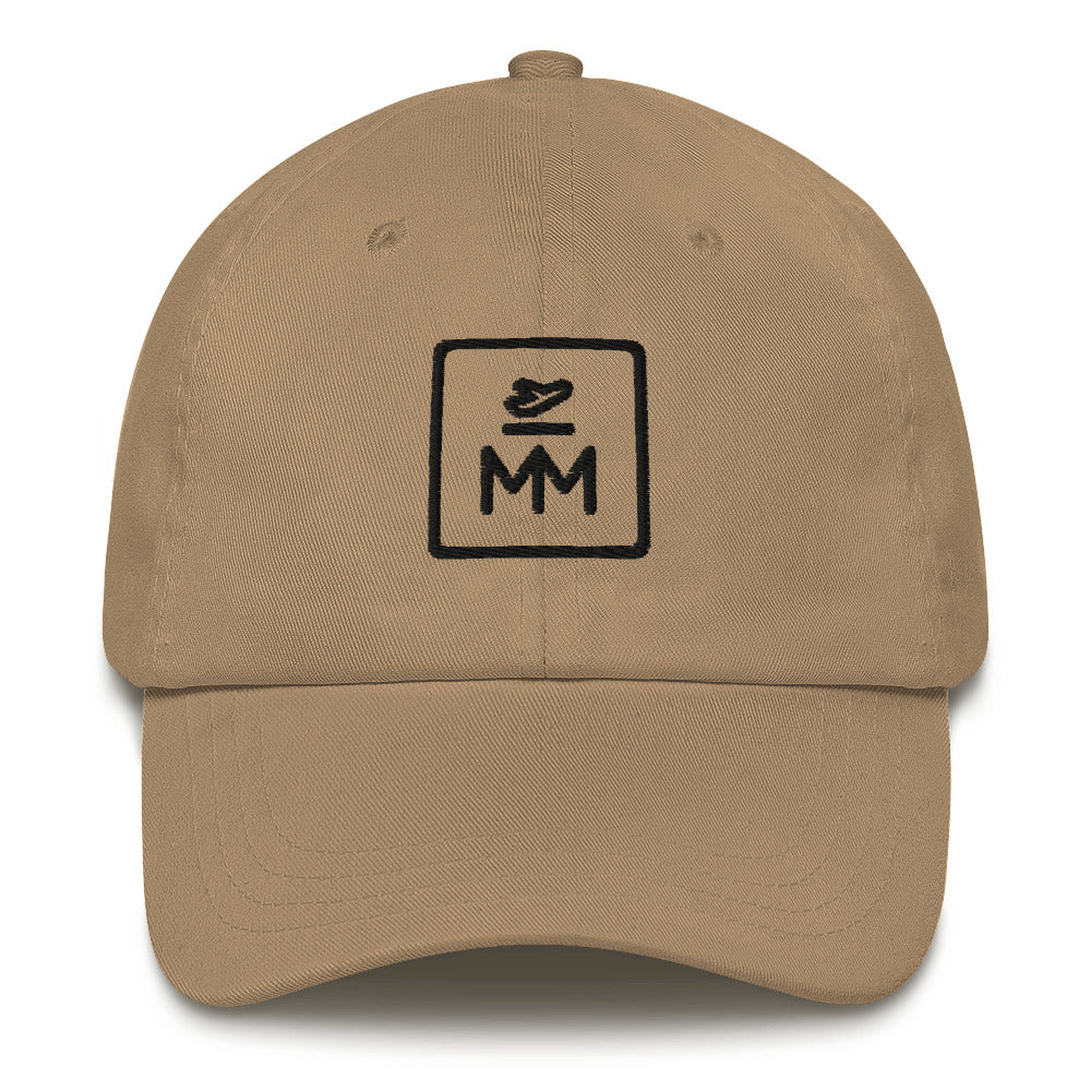 MM Icon Unstructured Cap - Black Icon (Multiple Colors Available)