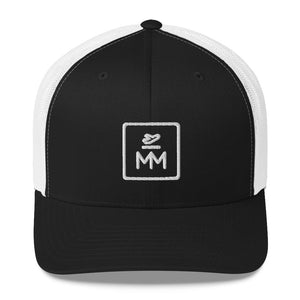 MM Icon Trucker Cap - White Icon
