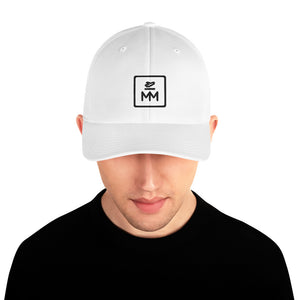 MM Icon Fitted Cap  - Black Icon