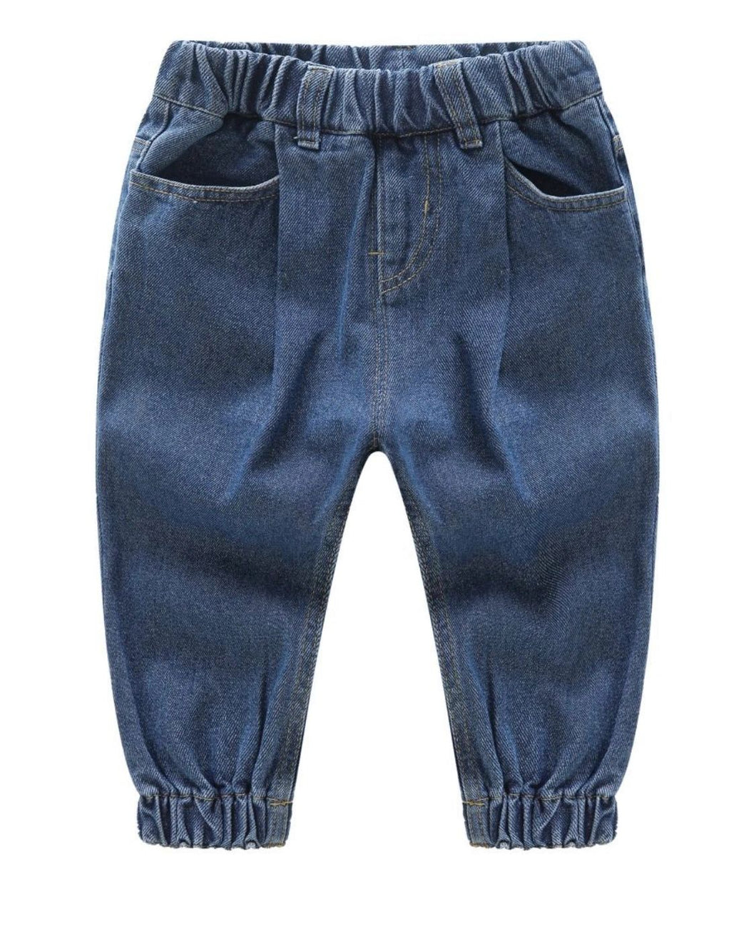 Boys elastic top jeans