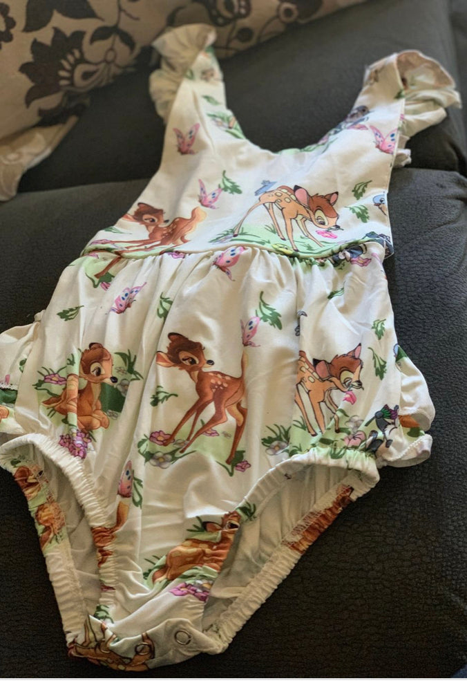 Stretch bambi romper size 12-18 months