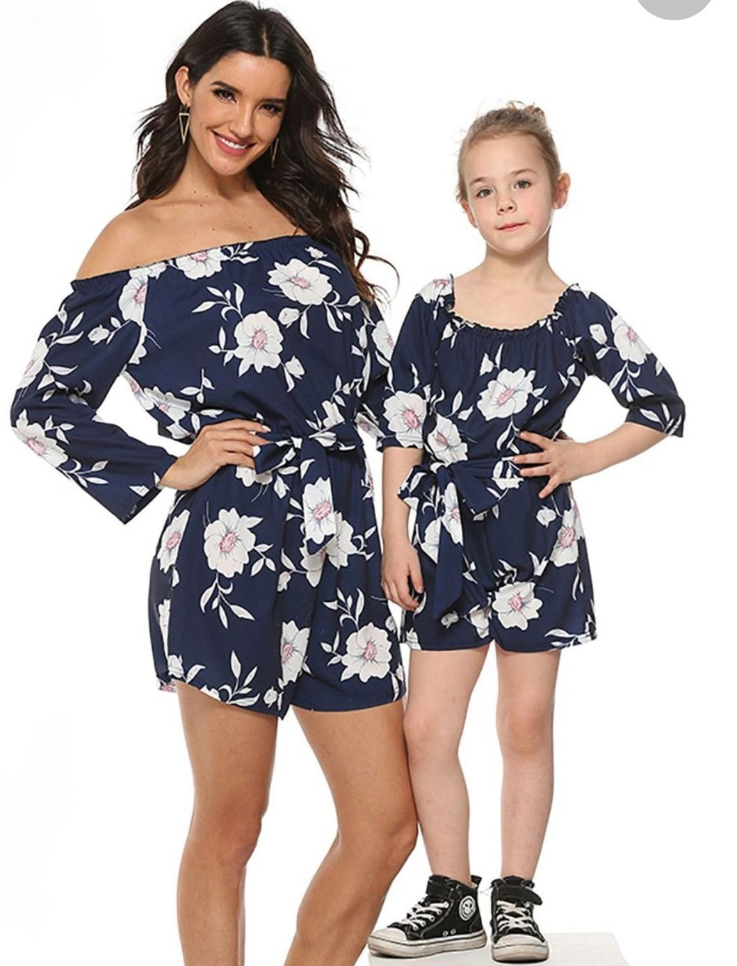 Mummy and me floral jumpsuit