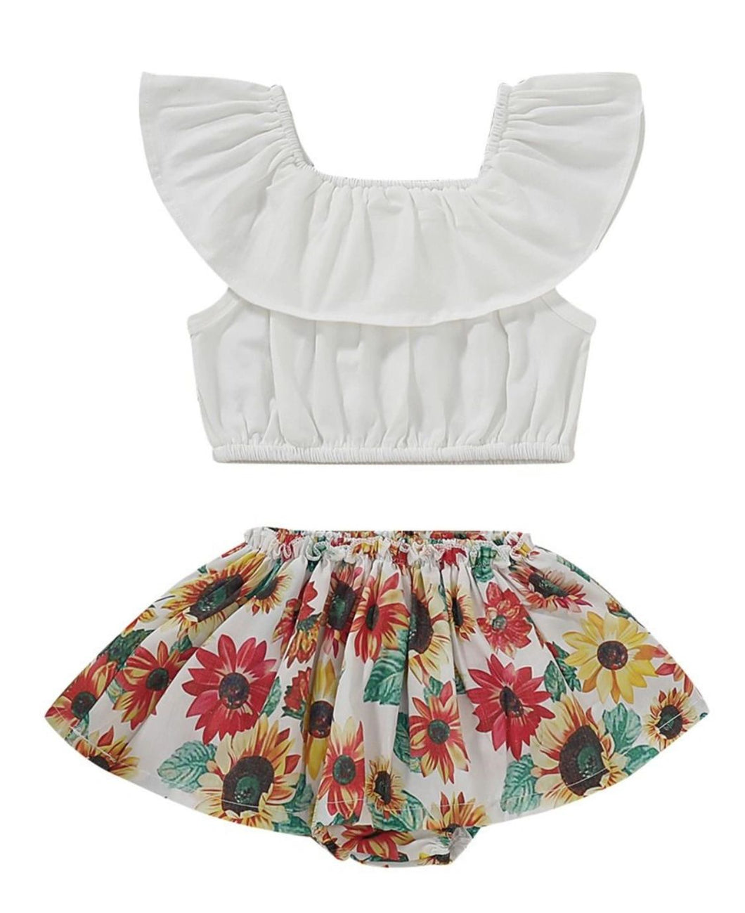 Two piece flower set