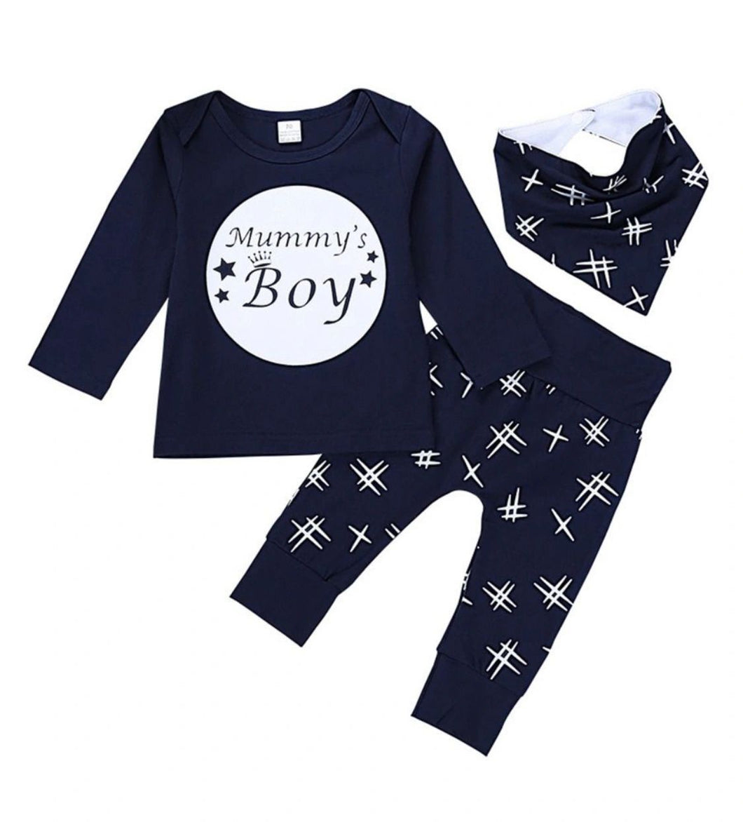 """Mummy's boy"" set"