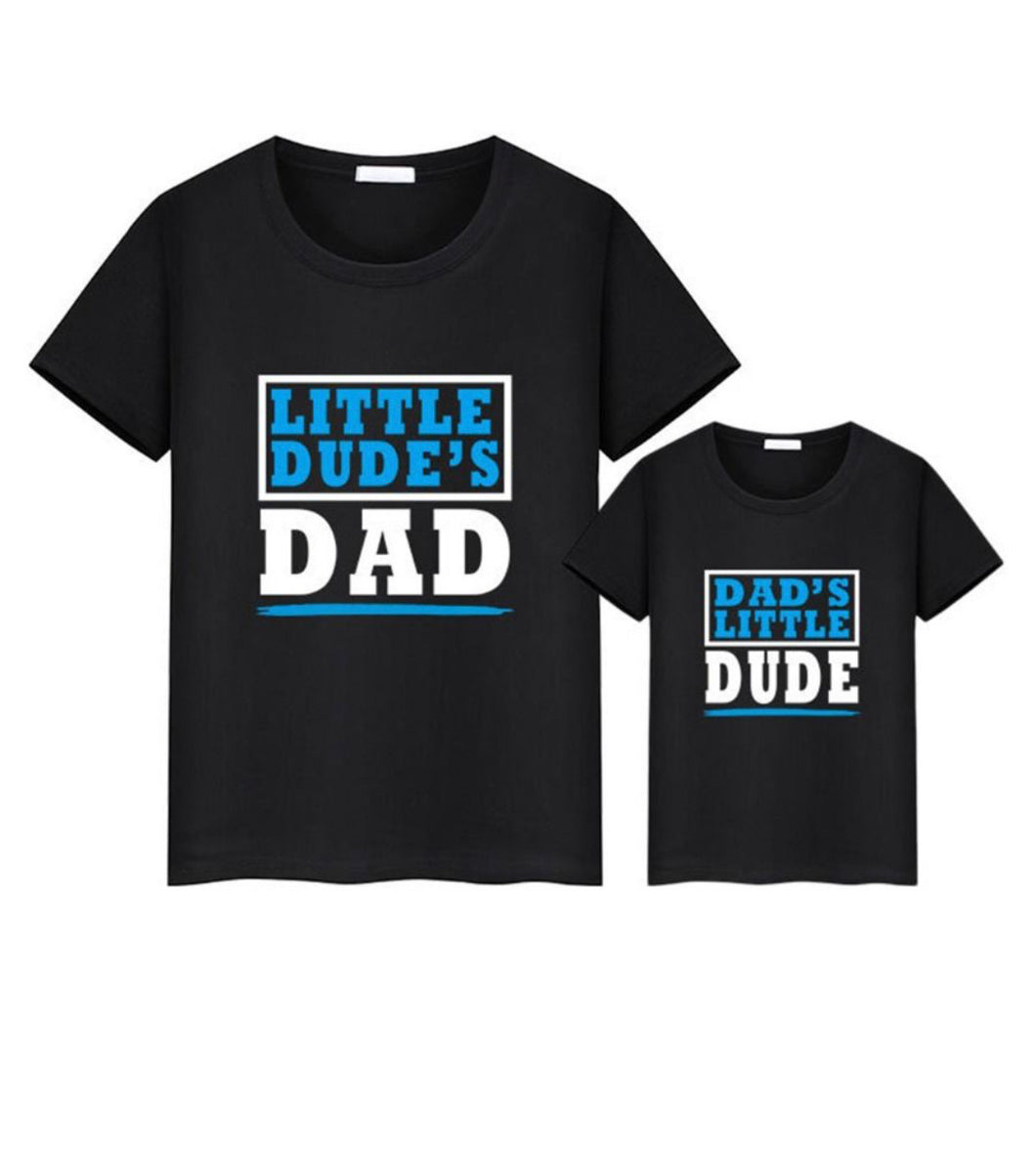 Family matching daddy and me tee