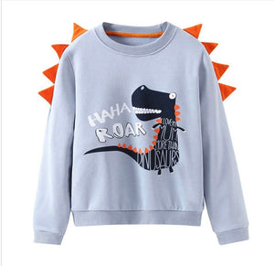 Boys dinosaur jumper