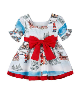 Girls gorgeous Christmas dress