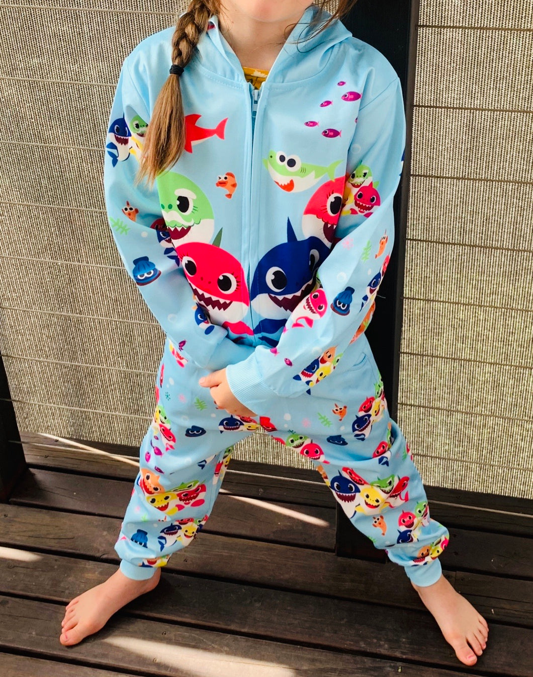 Baby shark tracksuit - Blue