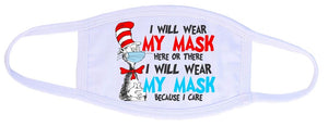 Kids and adults face masks- because I care