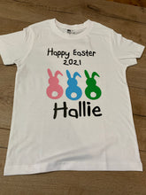 Load image into Gallery viewer, Personalised Easter tee
