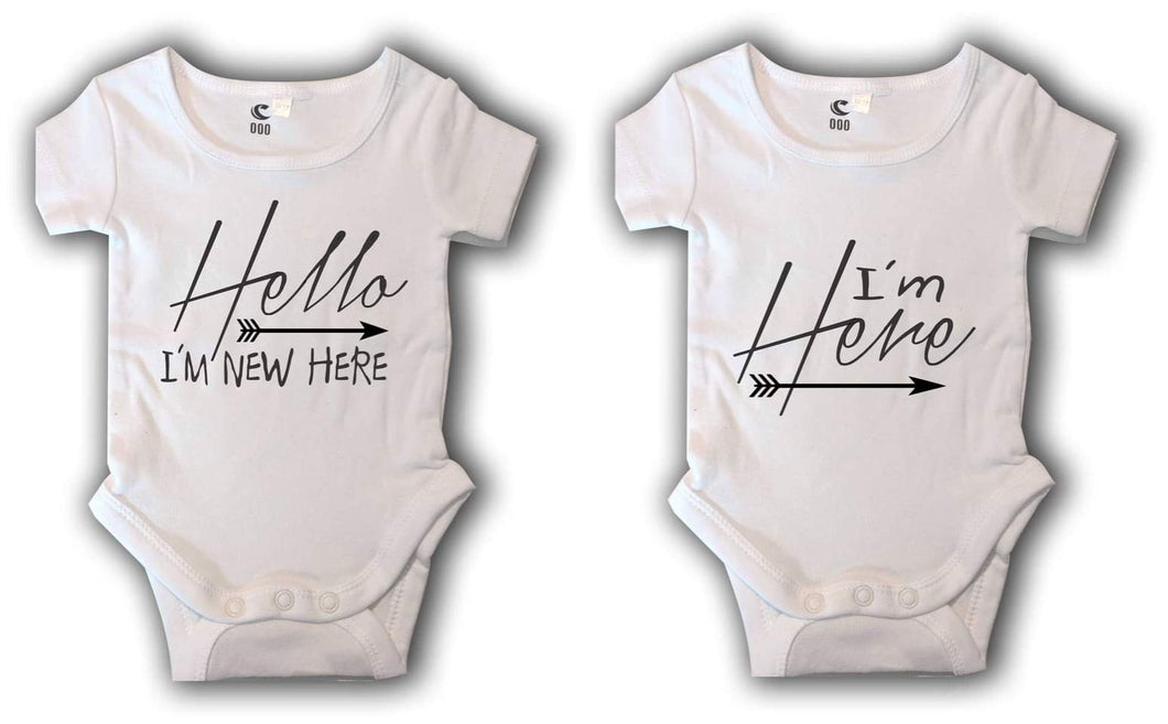 New born rompers
