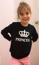 Load image into Gallery viewer, Girls long sleeve tee- princess