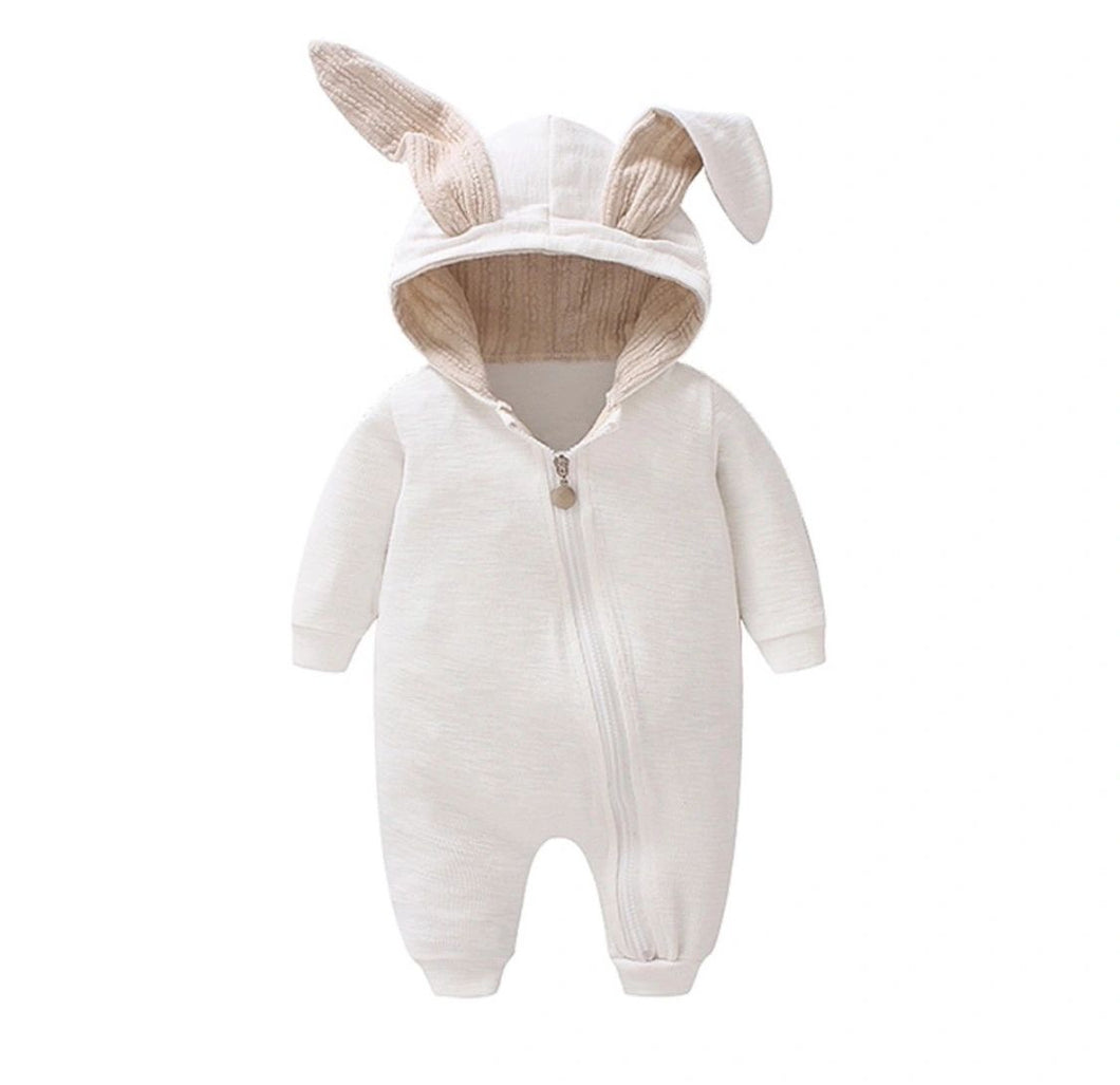 White bunny suit- last one - size 12-18 months