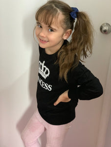 Girls long sleeve tee- princess