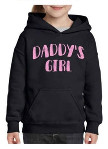 Daddy's girl hoodie size 6- last one