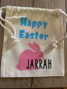Mini personalised Easter bag - check description for sizing