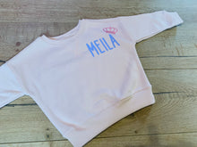Load image into Gallery viewer, Personalised name jumpers - three colours