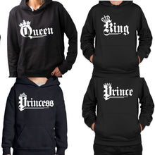 "Load image into Gallery viewer, Ladies ""queen"" hoodie"