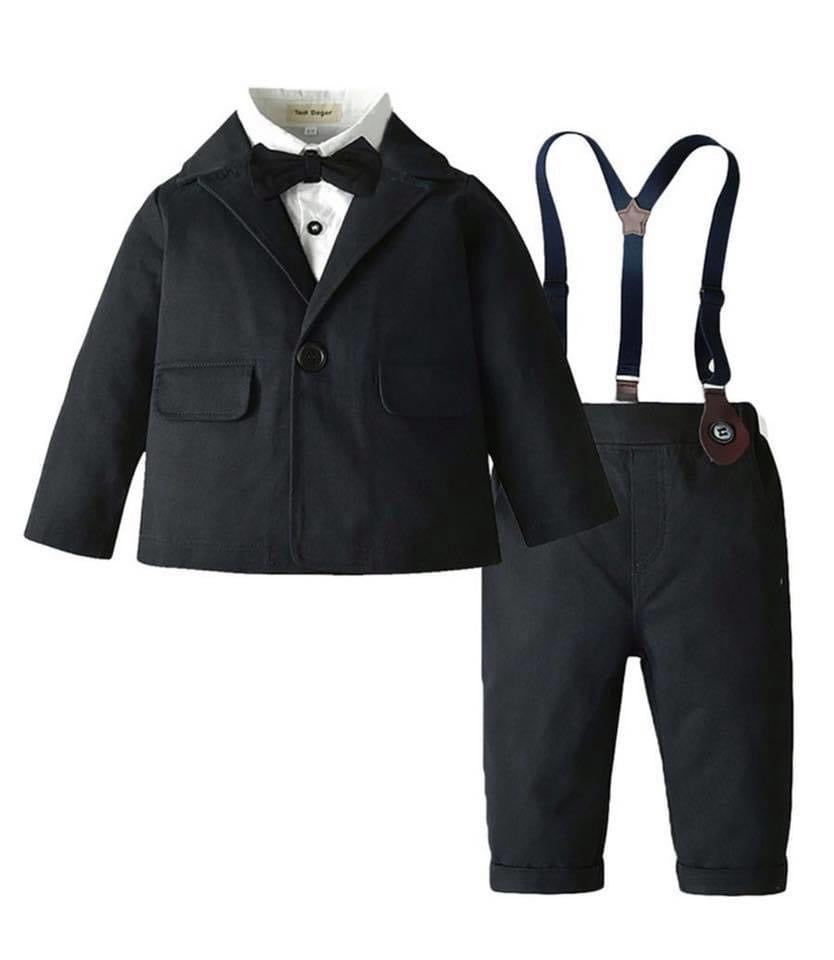 Boys suit set - black