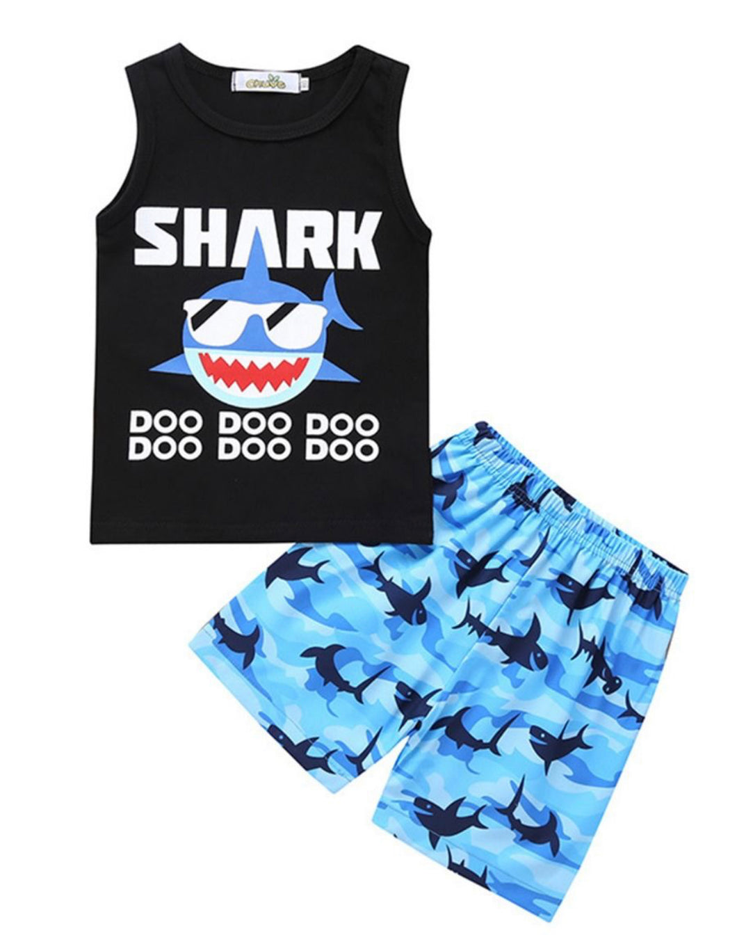 Boys summer baby shark set